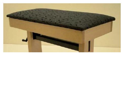 Baltes Klavierbank Modell 100 N