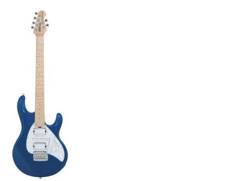 Music Man Silhouette Pearl Blue