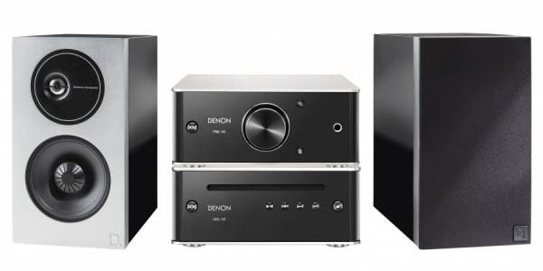 Denon PMA-60 + DCD-50 + Demand D9 Premium-Silber/Schwarz