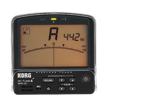 Korg Wr01s Wireless Tuner für Blasinstrumente
